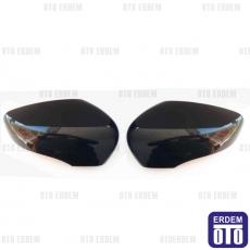 Clio 4 Dikiz Ayna Kapak Takımı Siyah 963737611R