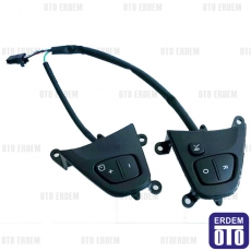 Clio 4 Direksiyon Kontrol Butonu 255501542R