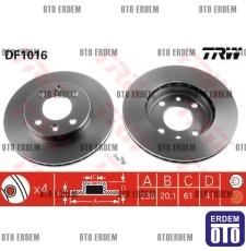 Clio Symbol Ön Fren Disk Takımı 7701204286