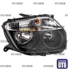 Dacia Duster Sağ Far Siyah Çerçeveli (Motorsuz) 260101891RA