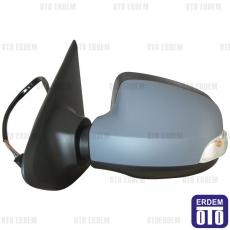 Dacia Logan 2 Dış Ayna Sağ (Elektrikli - Sensörlü - Sinyalli - Astarlı - 9Pin) 963014492R