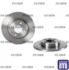 Dacia Logan Düz Fren Disk Takımı Ferodo 6001547683