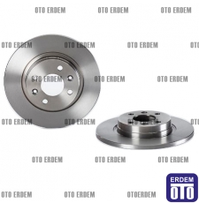 Dacia Logan Fren Disk Takımı Düz Mga 6001547683 - 7701208252 - 2
