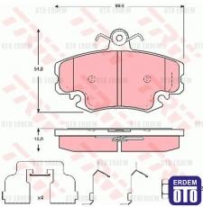 Dacia Logan Ön Fren Balatası TRW 6001547911