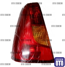 Dacia Logan Sol Stop Lambası Kırmızı Reflektörlü 6001546794