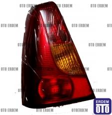Dacia Logan Sol Stop Lambası Kırmızı Reflektörlü 6001546794 - 3