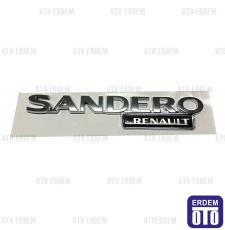 Dacia Sandero Bagaj Kapak Yazısı 8200560866