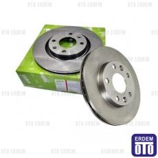 Doblo Ön Fren Disk Takımı Valeo 51749124