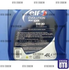 Elf Evolution 900 SXR Motor Yağı 5W-30 (4 Litre)  - 3