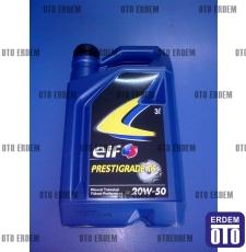 Elf Prestigrade TS Motor yağı 20W-50 (3 Litre)