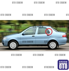 Fiat Albea Arka Kapı Dış Bakaliti Sol 713167808 - 2