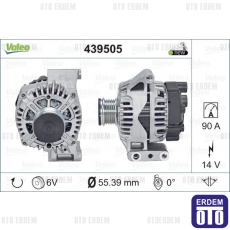Fiat Alternatrör Şarj Dinamosu 1300 Multijet 52003517 - 4