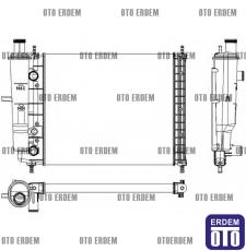 Fiat Brava Motor Su Radyatörü  46736955  - 2