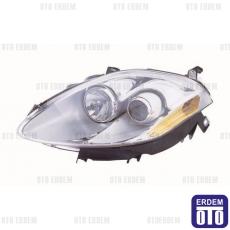 Fiat Bravo 2 Far Lambası Sağ (Motorlu - Krom) Depo 51757534
