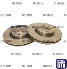 Fiat Bravo Ön Fren Disk Takımı 46455892