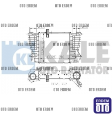 Fiat Clio 3 Turbo Radyatörü  8200471888 - 2