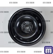 "Fiat Doblo 6J 15"" Sac Jant (Kara Jant) 4 Bijon 51966659 - 2"