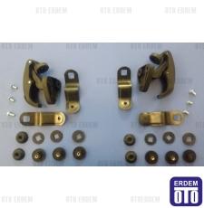 Fiat Doblo Arka Kelebek Cam Pergeli Takımı 735294353