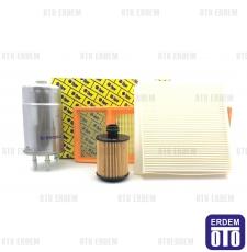 Fiat Doblo Filtre Seti Euro 5 (Yeni Model) 55177229