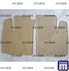 Fiat Doblo Kauçuk Paspas Takımı Orjinal 55170804 - 5
