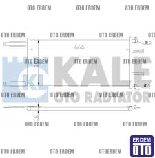 Fiat Doblo Klima Radyatörü 46811208  - 2