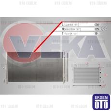 Fiat Doblo Klima Radyatörü 51804991