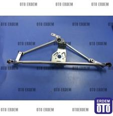 Fiat Doblo Ön Cam Silecek Motor Mekanizması 51839941T - 4