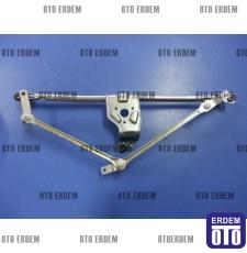 Fiat Doblo Ön Cam Silecek Motor Mekanizması 51839941T - 6