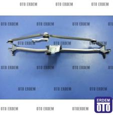 Fiat Doblo Ön Cam Silecek Motor Mekanizması 51839941T - 7