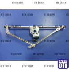 Fiat Doblo Ön Cam Silecek Motor Mekanizması 51839941T - 8