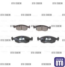 Fiat Doblo Ön Fren Balatası Takımı Bosch 2001-2005 55170904 - 5