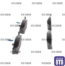 Fiat Doblo Ön Fren Balatası Takımı Ferodo 2001-2005 55170904 - 4