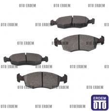 Fiat Doblo Ön Fren Balatası Takımı Ferodo 2001-2005 55170904