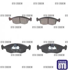 Fiat Doblo Ön Fren Balatası Takımı MGA 2001-2005 55170904 - 5