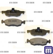 Fiat Doblo Ön Fren Balatası Takımı MGA 2001-2005 55170904 - 6
