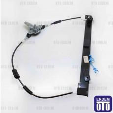 Fiat Doblo Ön Sağ Cam Krikosu ( Mekanik ) 51711750