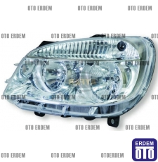 Fiat Doblo Sağ Far Elektrikli Motorlu 51805934