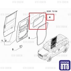 Fiat Doblo Sürgülü Kapı Cam Fitili Sol 98816288