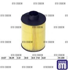 Fiat Doblo Yakıt Filtresi 1.3Jtd 77362340
