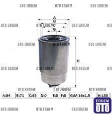 Fiat Doblo Yakıt Filtresi 46797378