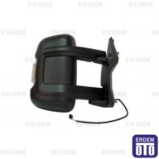 Fiat Ducato Dış Ayna Sol (Manuel - Sensörlü - 4Pin 2.2M) 8153W0