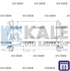 Fiat Ducato Motor Su Radyatörü 1330.S3 - 2