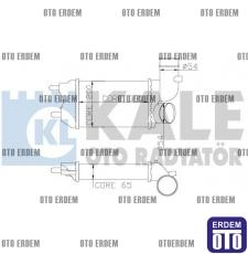 Fiat Ducato Turbo Radyatörü  1307012080  - 2