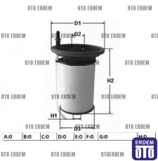 Fiat Ducato Yakıt Filtresi 2.3D 77366607