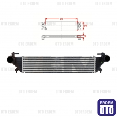 Fiat Egea İntercooler Turbo Radyatörü 51887954