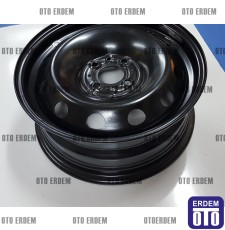 "Fiat Fiorino 6J 15"" Sac Jant (Kara Jant) 4 Bijon- Bipper - Nemo 51966659 - 4"