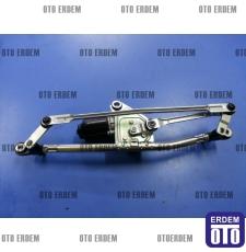 Fiat Fiorino Ön Cam Silecek Motoru Mekanizmalı 1354851080 - 5