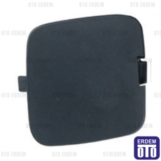 Fiat Fiorino Ön Tampon Çeki Demir Kapağı (Ön Boyasız Siyah) 735462201