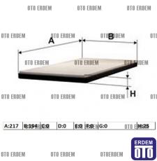 Fiat Freemont Polen Filtresi 05058693AA