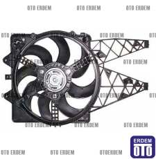 Fiat Grande Punto Fan Motoru Davlumbazlı Klimalı 55700342